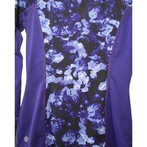Athleta Tops - Athleta Indigo Purple Print Long Sleeve Top
